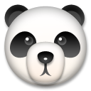 Panda Face lg emoji
