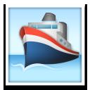Passenger Ship lg emoji