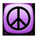 Peace Symbol lg emoji