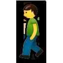 Pedestrian lg emoji