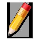 Pencil lg emoji