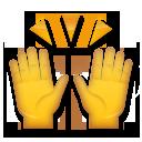 Person Raising Both Hands In Celebration lg emoji