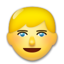 Person With Blond Hair lg emoji