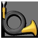 Postal Horn lg emoji