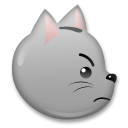 Pouting Cat Face lg emoji