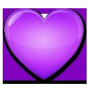 Purple Heart lg emoji