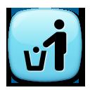Put Litter In Its Place Symbol lg emoji