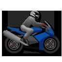 Racing Motorcycle lg emoji