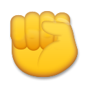 Raised Fist lg emoji