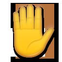 Raised Hand lg emoji