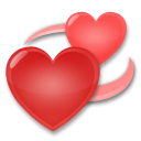 Revolving Hearts lg emoji