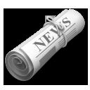 Rolled-up Newspaper lg emoji