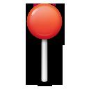 Round Pushpin lg emoji