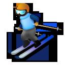 Skier lg emoji