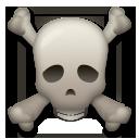 Skull And Crossbones lg emoji