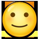 Slightly Smiling Face lg emoji