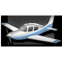Small Airplane lg emoji