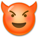 Smiling Face With Horns lg emoji