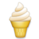 Soft Ice Cream lg emoji