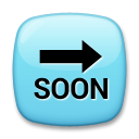 Soon With Rightwards Arrow Above lg emoji