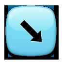 South East Arrow lg emoji