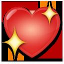 Sparkling Heart lg emoji