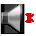 Speaker With Cancellation Stroke lg emoji