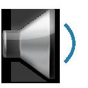 Speaker With One Sound Wave lg emoji
