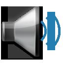 Speaker With Three Sound Waves lg emoji
