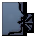 Speaking Head In Silhouette lg emoji