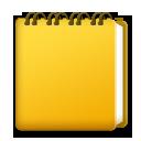 Spiral Note Pad lg emoji