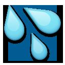 Splashing Sweat Symbol lg emoji
