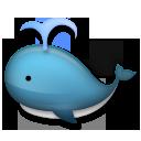 Spouting Whale lg emoji