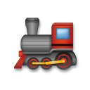 Steam Locomotive lg emoji