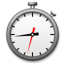 Stopwatch lg emoji