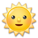 Sun With Face lg emoji