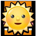 Sun With Face lg emoji