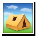 Tent lg emoji