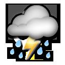 Thunder Cloud And Rain lg emoji