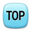Top With Upwards Arrow Above lg emoji