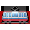 Tram Car lg emoji