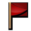 Triangular Flag On Post lg emoji
