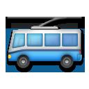 Trolleybus lg emoji