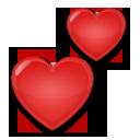 Two Hearts lg emoji