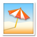 Umbrella On Ground lg emoji
