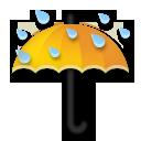 Umbrella With Rain Drops lg emoji