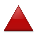 Up-pointing Red Triangle lg emoji
