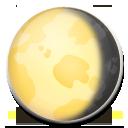 Waning Gibbous Moon Symbol lg emoji