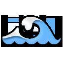 Water Wave lg emoji