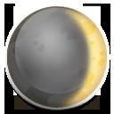 Waxing Crescent Moon Symbol lg emoji